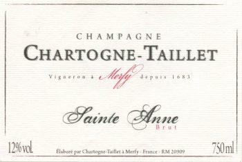 Chartogne-Taillet Cuvee Ste-Anne Champagne