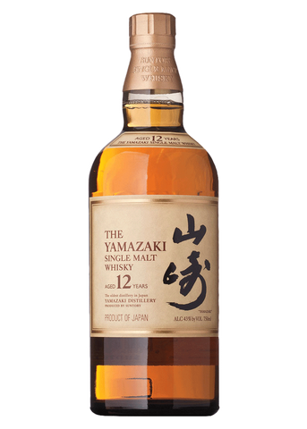 Yamazaki Single Malt Japanese Whisky 12 Year