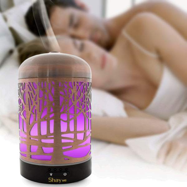 Shay MG03 Colour Changing Aroma Diffuser - 7 hours - Diffuser Humidifier