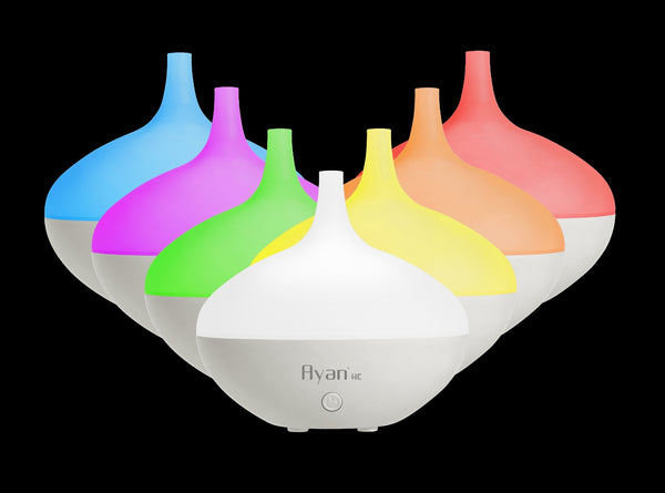 Ayan HC Aroma Diffuser & Humidifier with Colour Changing Light. 6 Hours.