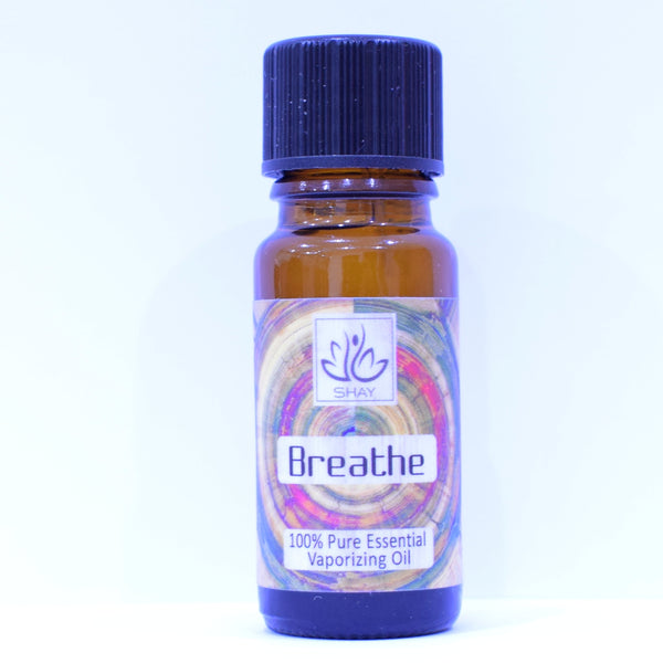 Breathe - 100% Pure Essential Vaporizing Oil 10ml Bottle - Diffuser Humidifier
