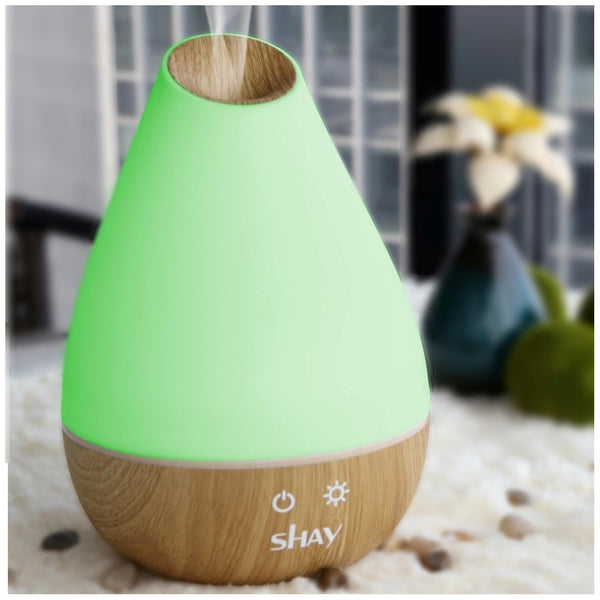 Shay Colour Changing Aroma Diffuser and Humidifier. 12 Hours. - Diffuser Humidifier