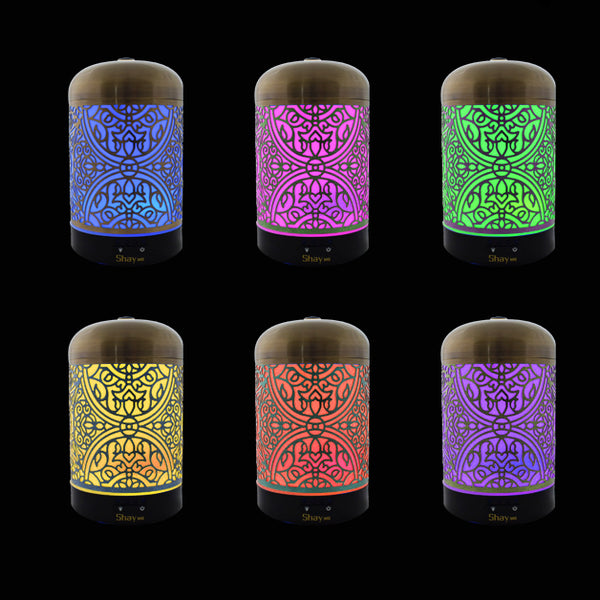 Shay MG04 Colour Changing Aroma Diffuser - 7 hours - Diffuser Humidifier