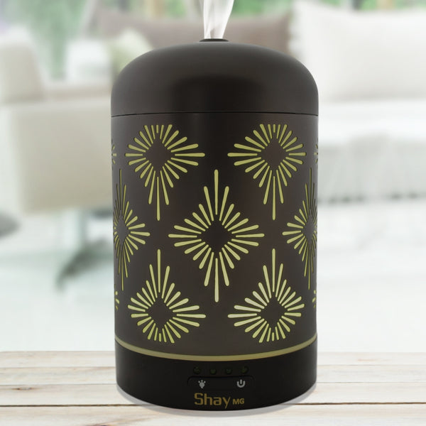 Shay MG01 Colour Changing Aroma Diffuser - 7 hours - Diffuser Humidifier