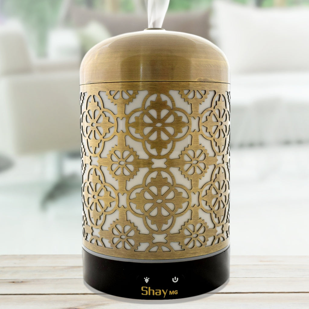 Shay MG02 Colour Changing Aroma Diffuser - 7 hours - Diffuser Humidifier