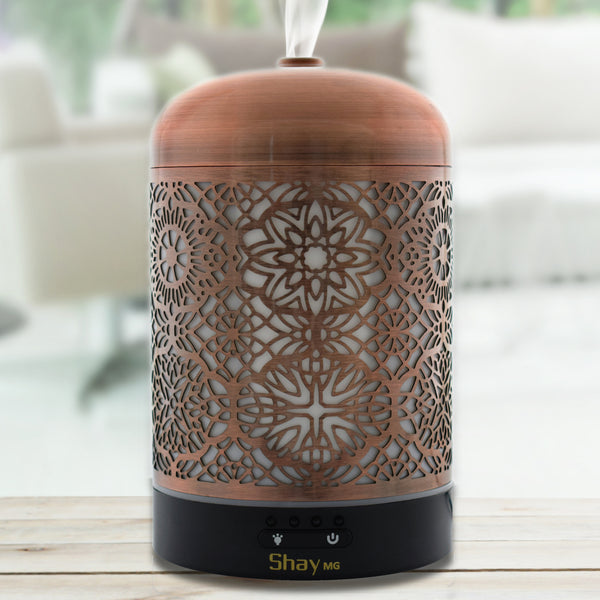 Shay MG05 Aroma Diffuser & Humidifier with Colour Changing Lamp. 7 hours