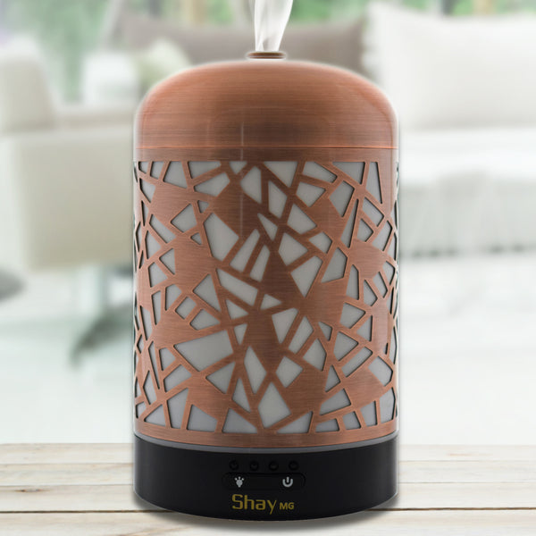 Shay MG06 Aroma Diffuser & Humidifier with Colour Changing Lamp. 7 hours