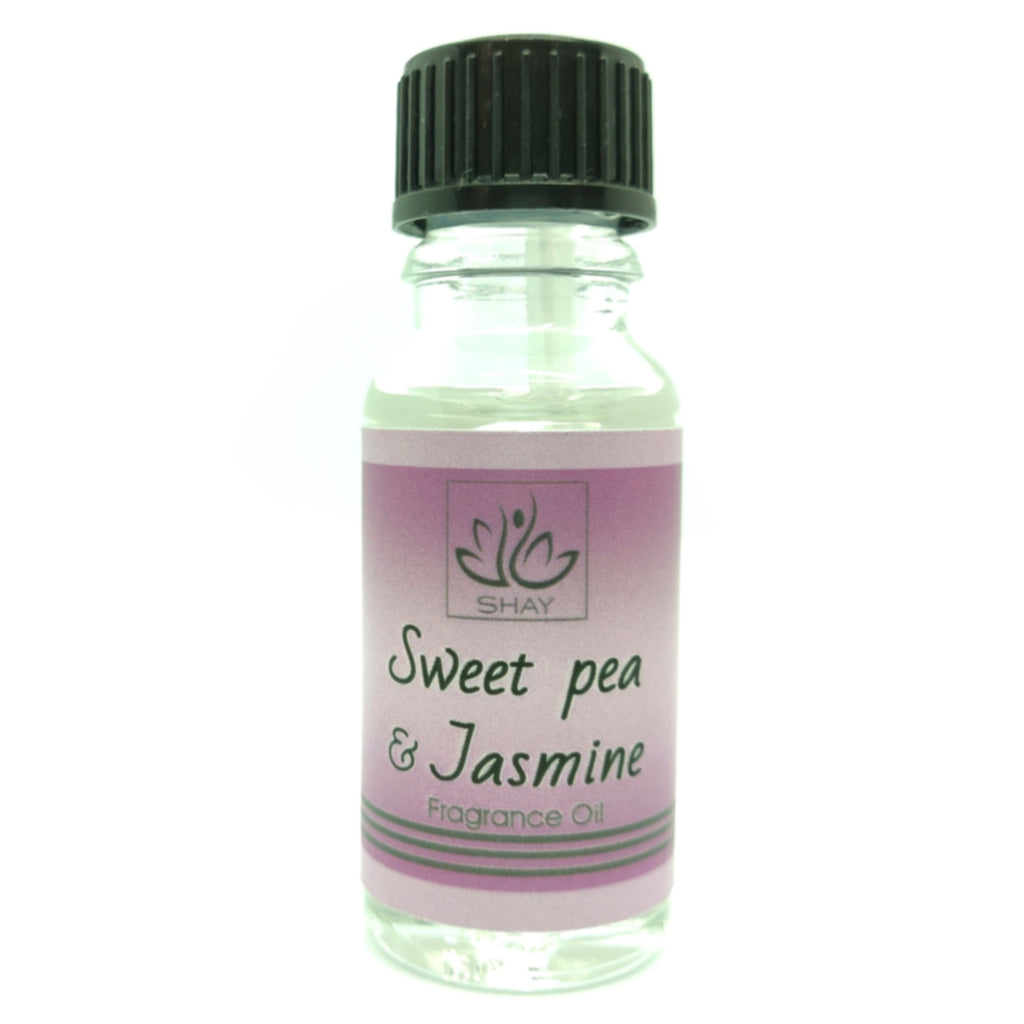 Sweet Pea & Jasmine - 15ml Fragrance Oil Bottle