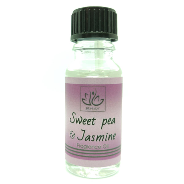 Sweet Pea & Jasmine - 15ml Fragrance Oil Bottle - Diffuser Humidifier