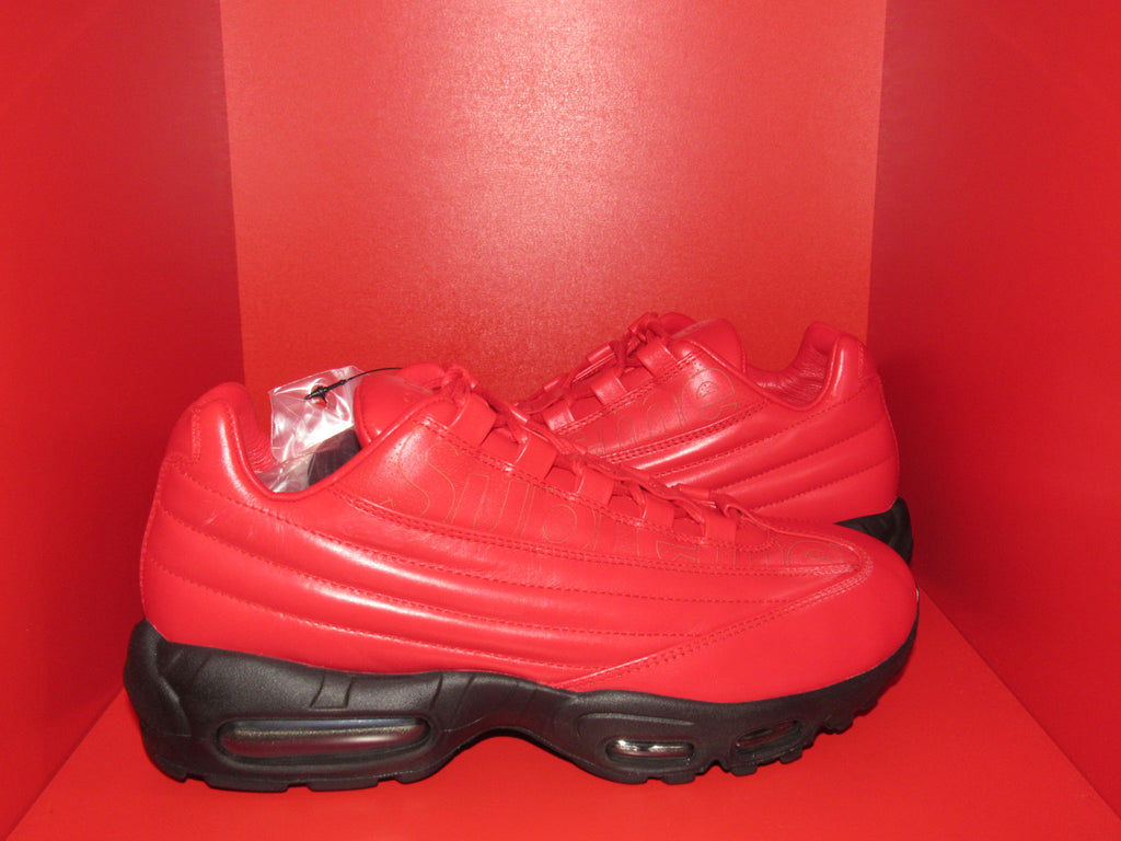 "Supreme x Air Max 95 ""Gym Red"""