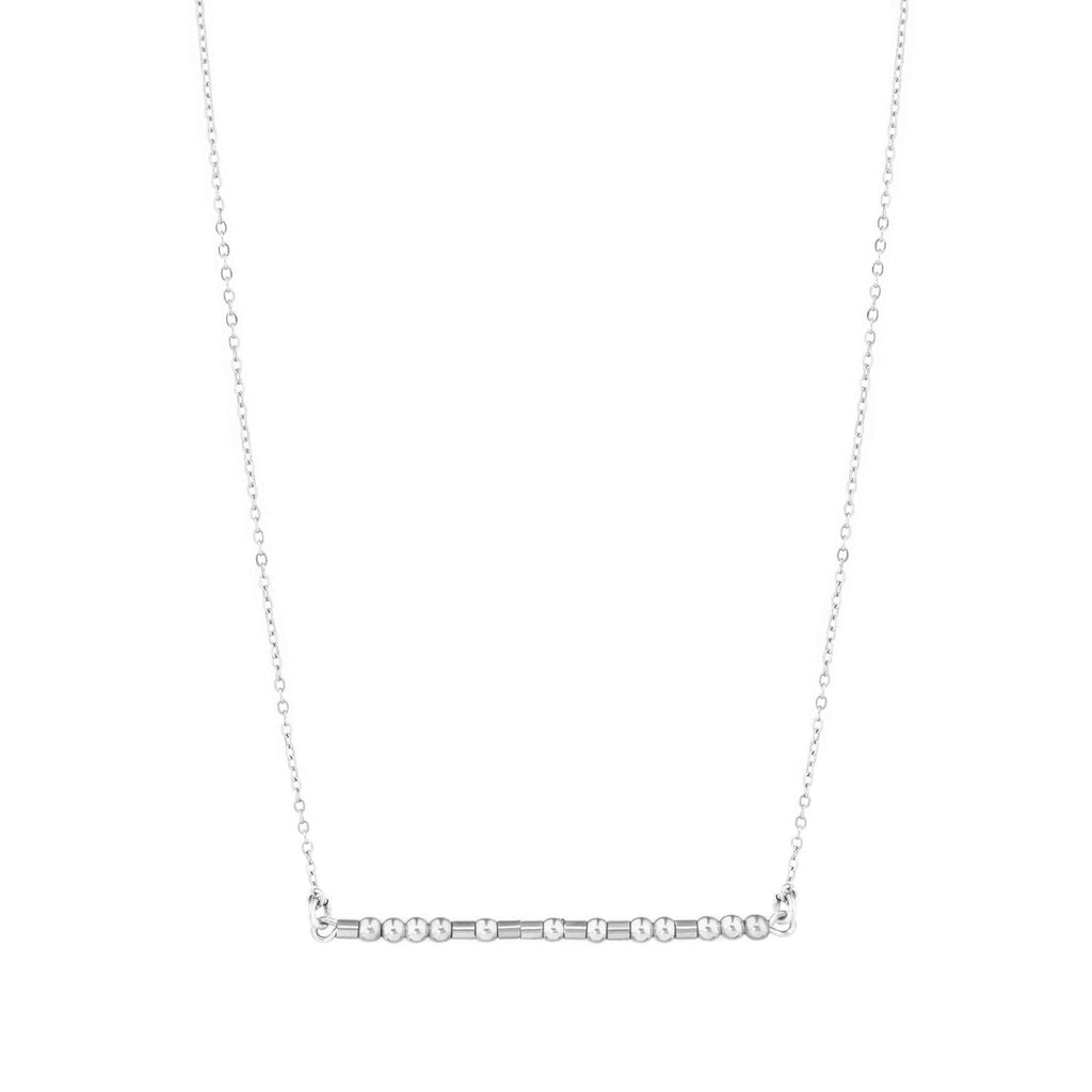 SISTER I MISS YOU - MORSE CODE NECKLACE - CA SOULS