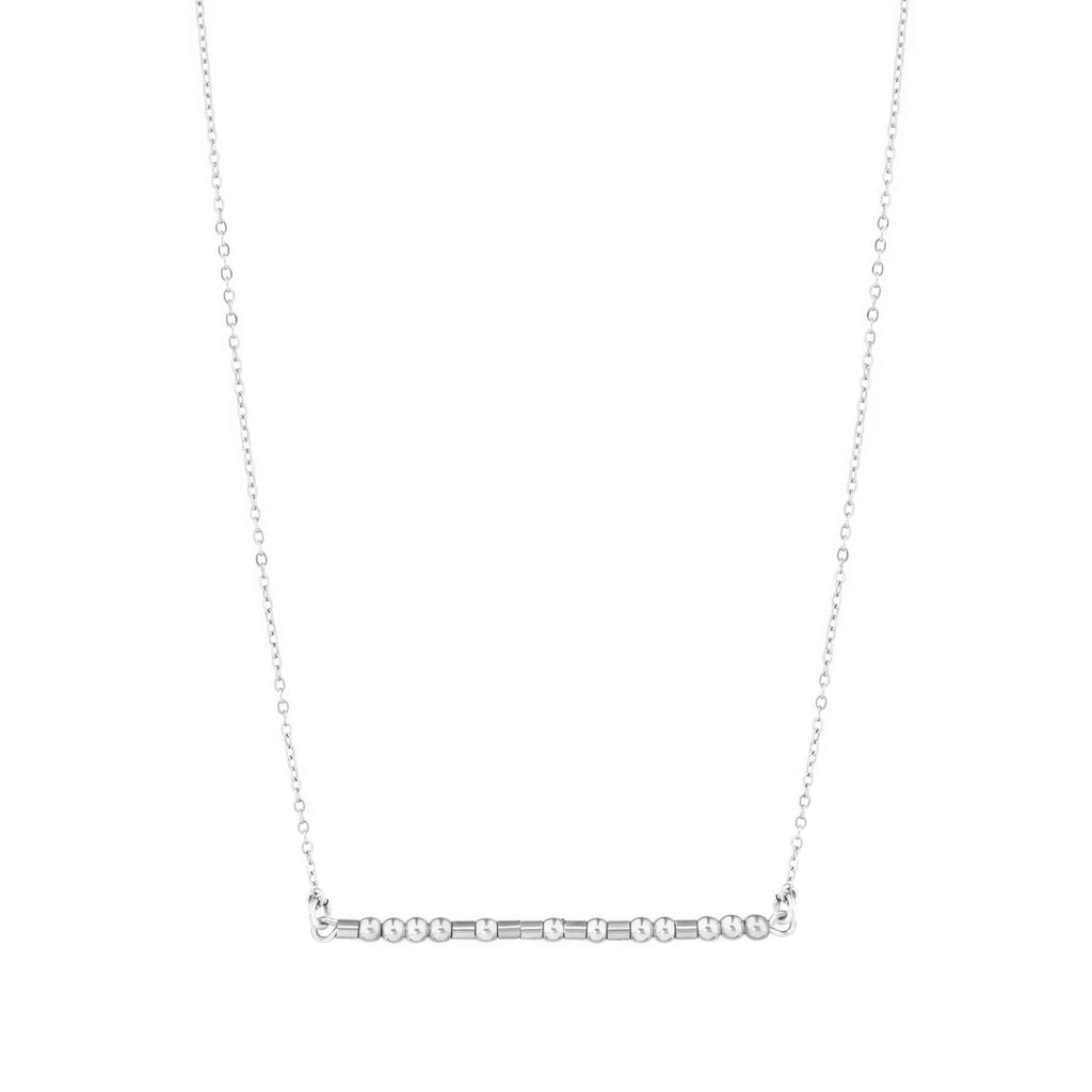 MOTHER MORSE CODE NECKLACE - CA SOULS