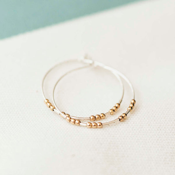LANA - MORSE CODE EARRINGS - CA SOULS