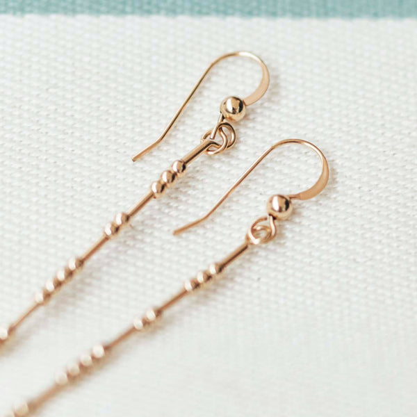 THEA - MORSE CODE EARRINGS - CA SOULS