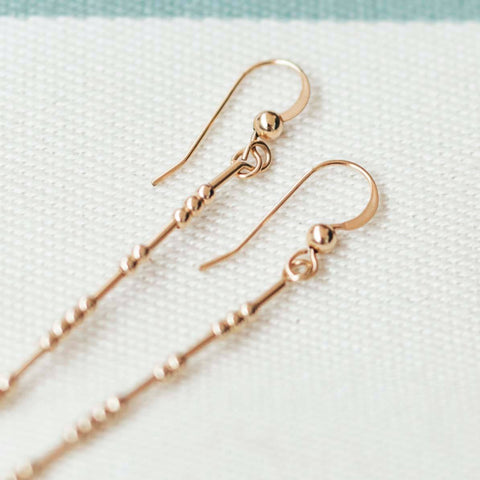 THEA - MORSE CODE EARRINGS