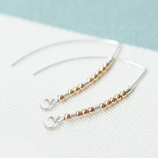 ADA - MORSE CODE EARRINGS - CA SOULS