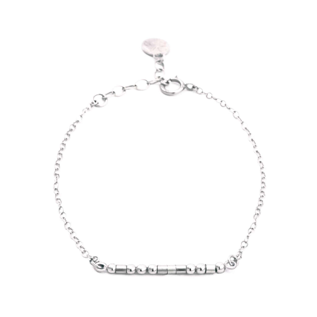 BEST MOTHER IN LAW - MORSE CODE BRACELET - CA SOULS