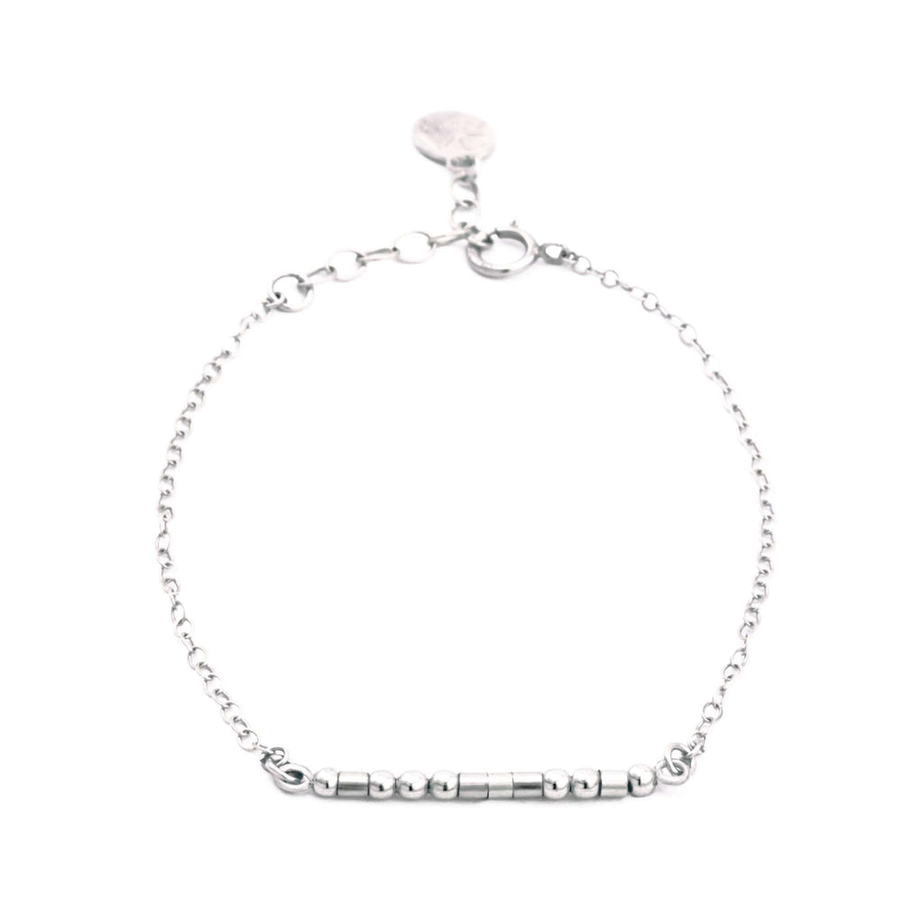 DAUGHTER, THE GIFT OF YOU - MORSE CODE BRACELET - CA SOULS