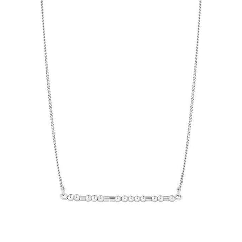 AYA - MORSE CODE NECKLACE