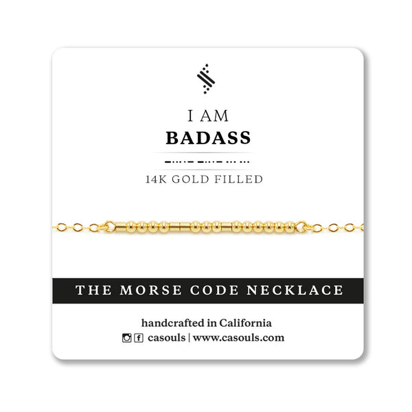 BADASS - EMPOWERING NECKLACE - CA SOULS