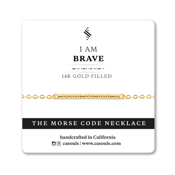 BRAVE - EMPOWERING NECKLACE - CA SOULS