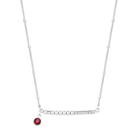 CHLOE - MORSE CODE NECKLACE