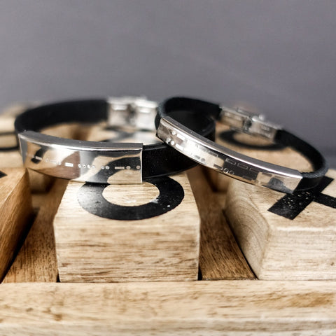 ENGRAVED SET - KANE & BLAIR BRACELETS