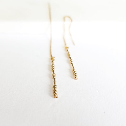 RUMI - MORSE CODE EARRINGS