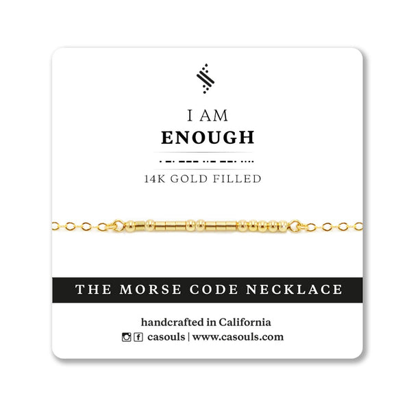 ENOUGH - EMPOWERING NECKLACE - CA SOULS