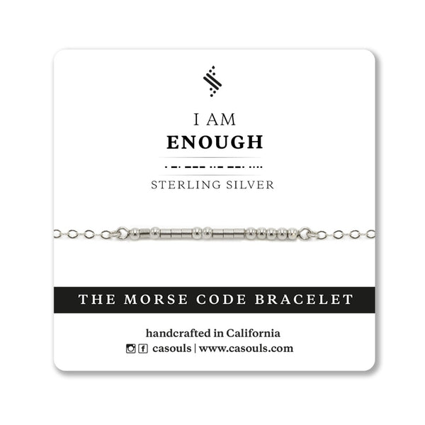 I AM ENOUGH - EMPOWERING BRACELET - CA SOULS