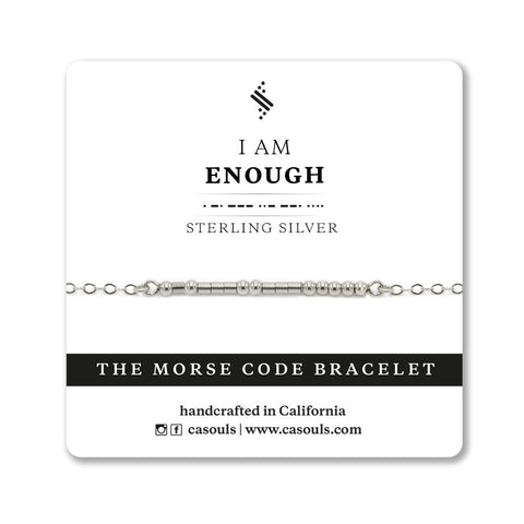 I AM ENOUGH - EMPOWERING BRACELET