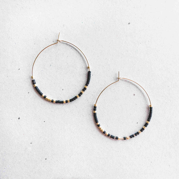 ESME - MORSE CODE EARRINGS - CA SOULS