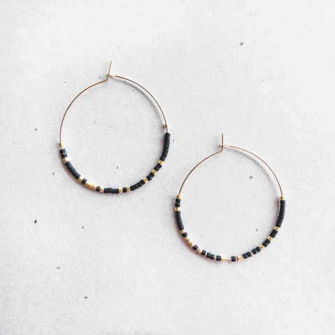 ESME - MORSE CODE EARRINGS
