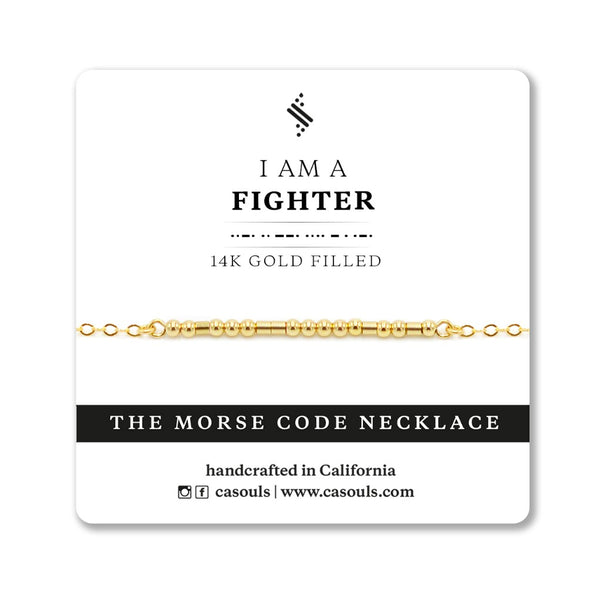 FIGHTER - EMPOWERING NECKLACE - CA SOULS