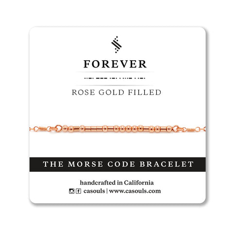 FOREVER MORSE CODE - SALE