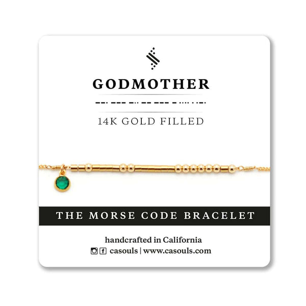 GODMOTHER - BIRTHSTONE BRACELET - CA SOULS