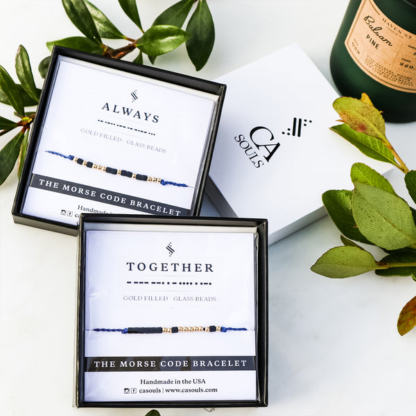 TOGETHER ALWAYS - COUPLE BRACELET SET