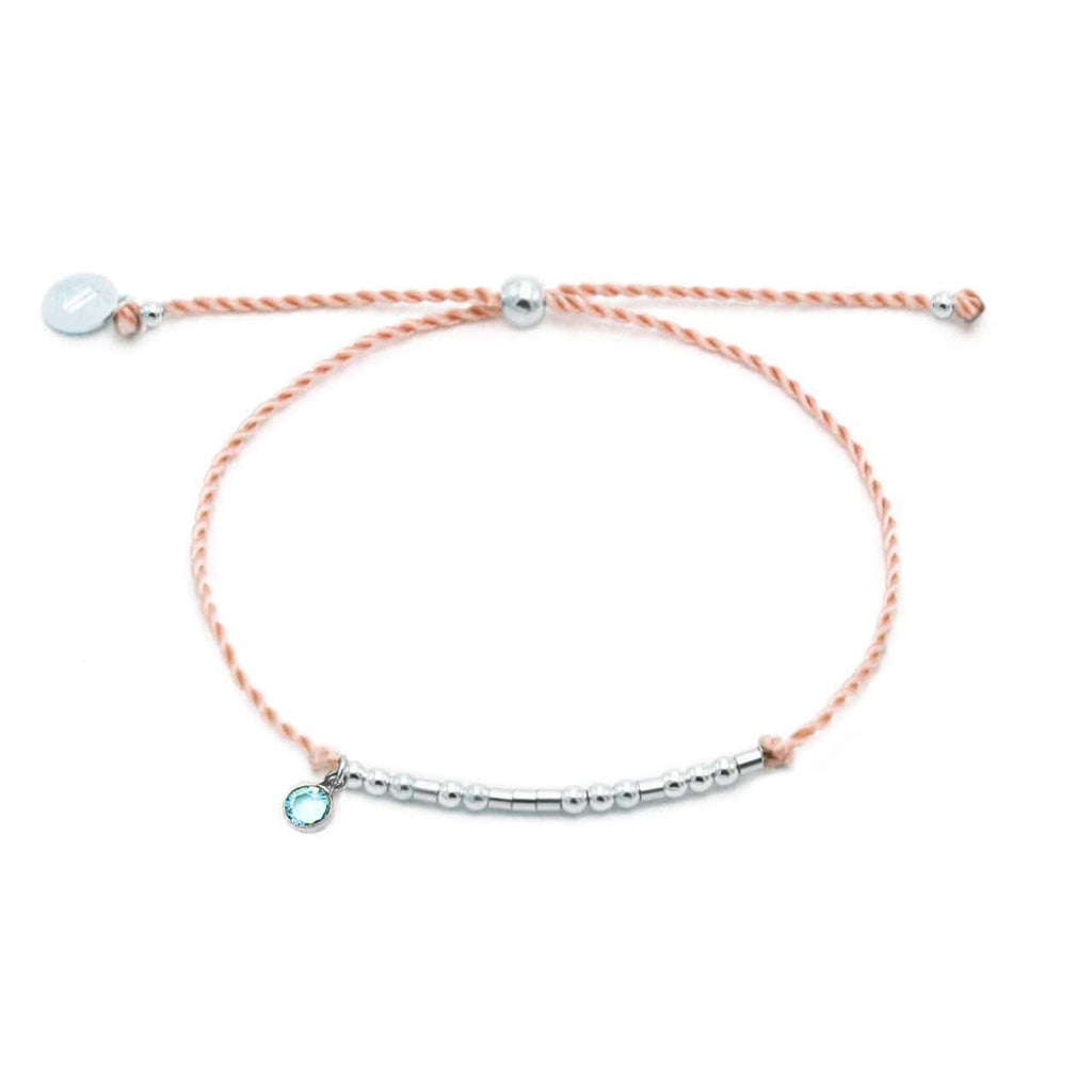BIG & LITTLE BIRTHSTONE BRACELET SET - CA SOULS