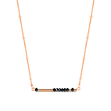 LAURA II - MORSE CODE NECKLACE