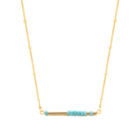 LAURA - MORSE CODE NECKLACE