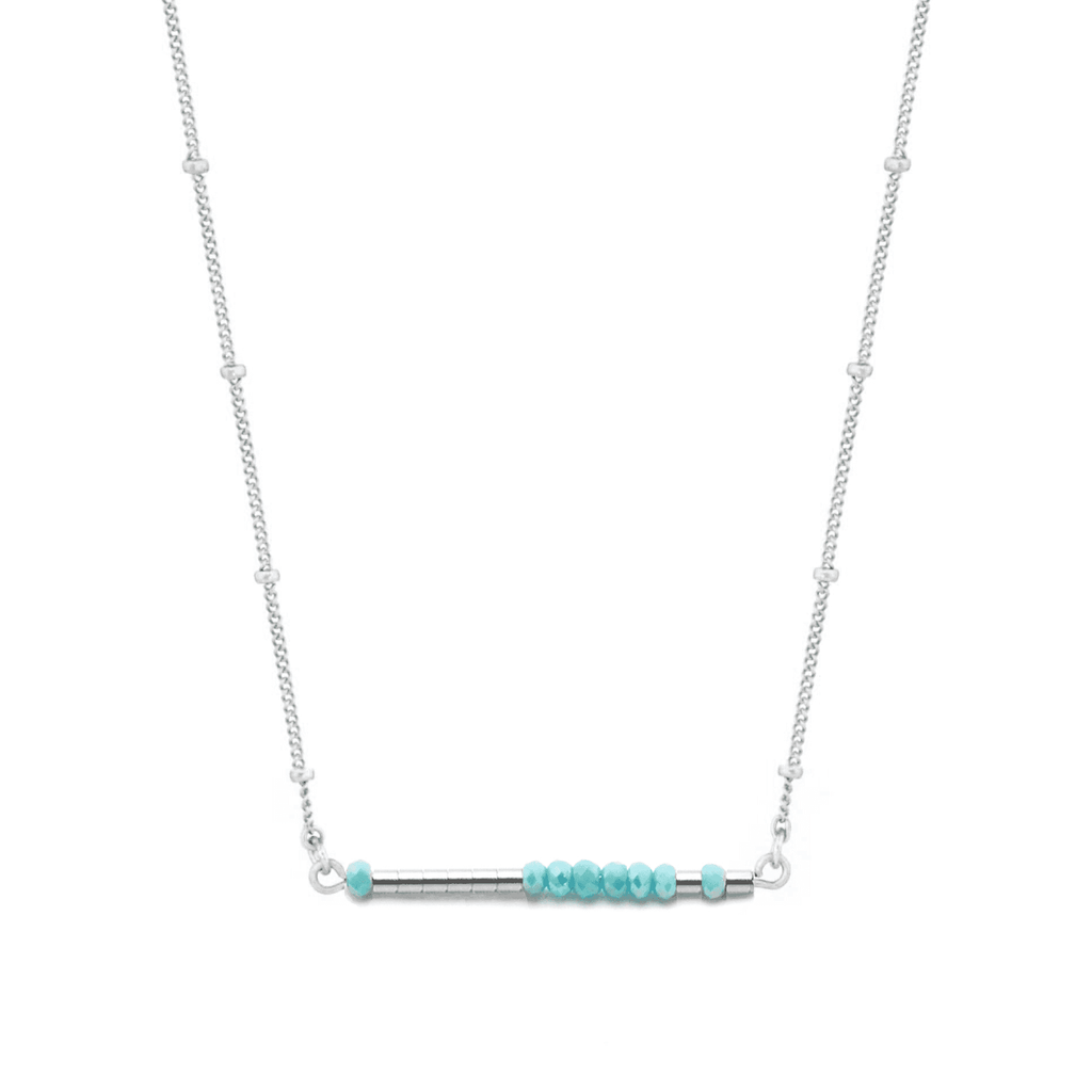 LAURA - MORSE CODE NECKLACE - CA SOULS