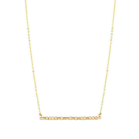 LOU - MORSE CODE NECKLACE