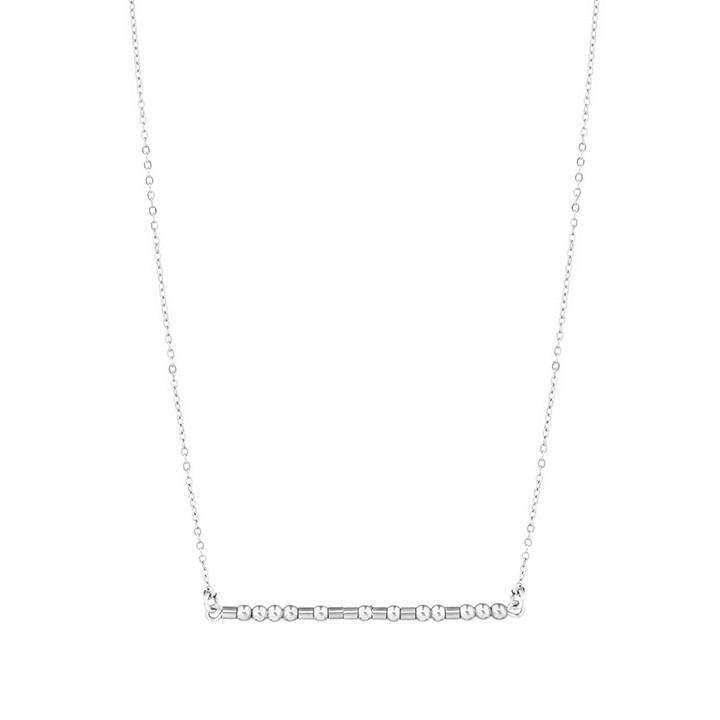 BESTIE, I GO TO YOU - MORSE CODE NECKLACE - CA SOULS