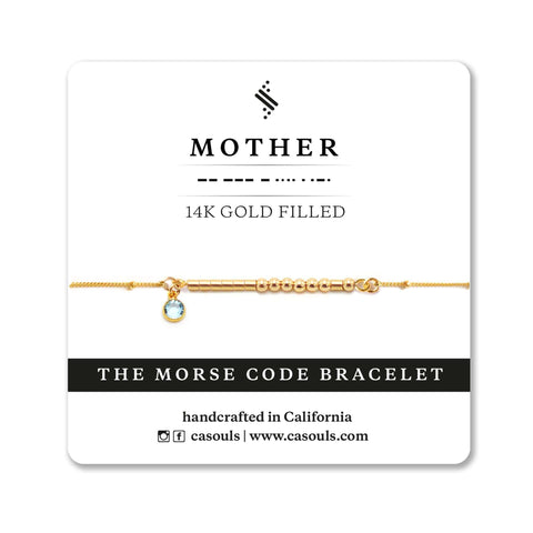 MOTHER - BIRTHSTONE BRACELET