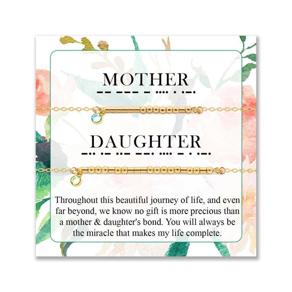 MOTHER & DAUGHTER GIFT- MESSAGE #10 - CA SOULS