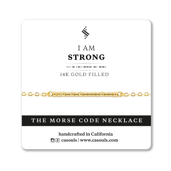 STRONG - EMPOWERING NECKLACE - CA SOULS