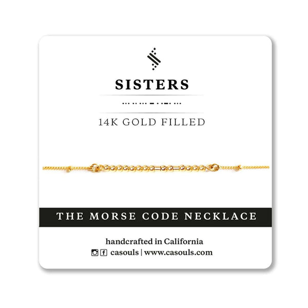 SISTERS - BRIDESMAIDS JEWELRY GIFT - CA SOULS