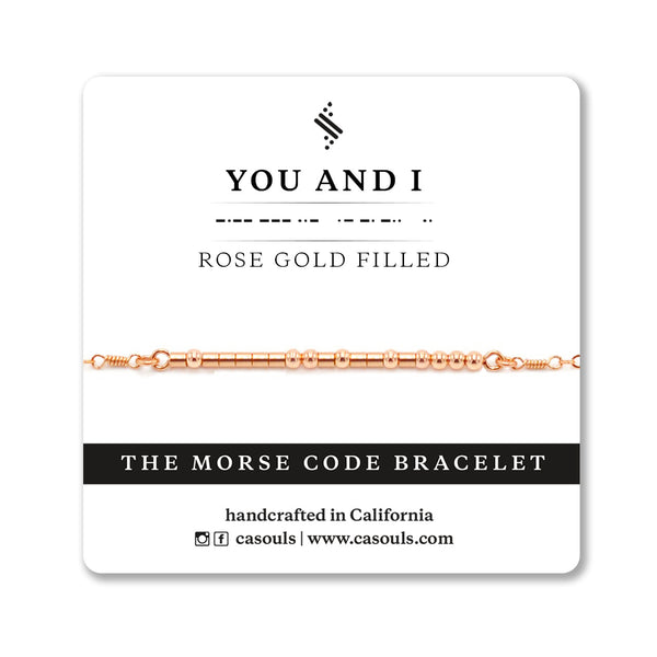 YOU AND I MORSE CODE - SALE - CA SOULS