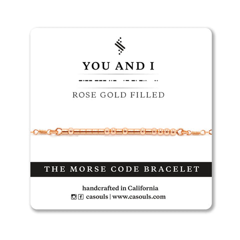 YOU AND I MORSE CODE - SALE