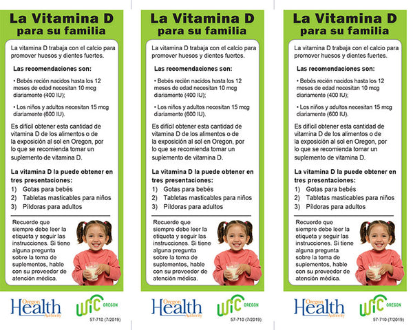 Vitamin D for Your Family - DOWNLOAD ONLY